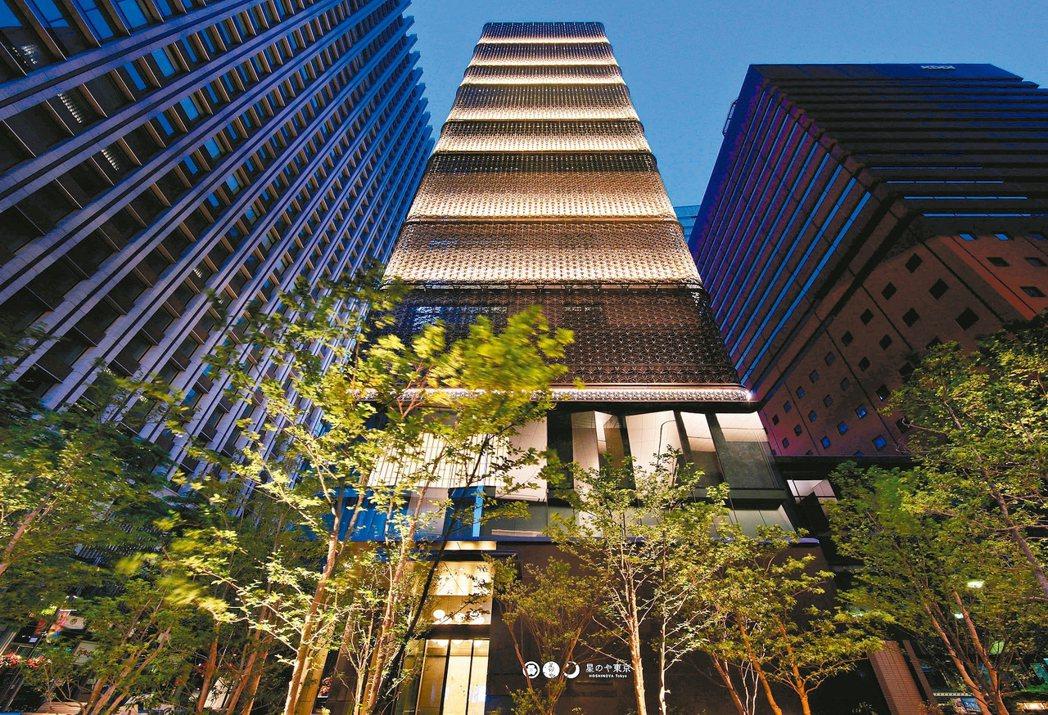 虹夕諾雅東京是比較新的據點。 圖/星野集團提供