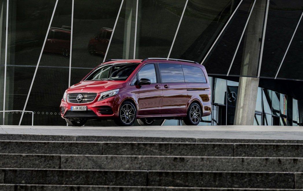 M. Benz V-Class RISE。圖/M. Benz提供