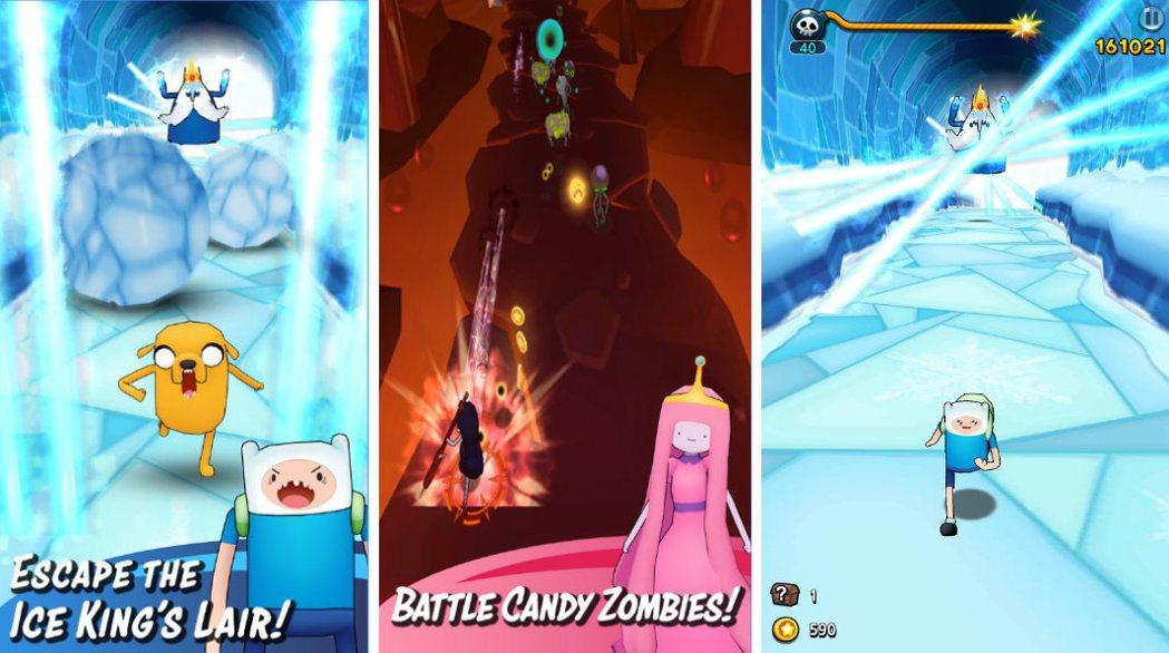 Adventure Time Run「探險活寶」手遊以繁體中文等共十種語言上線,...