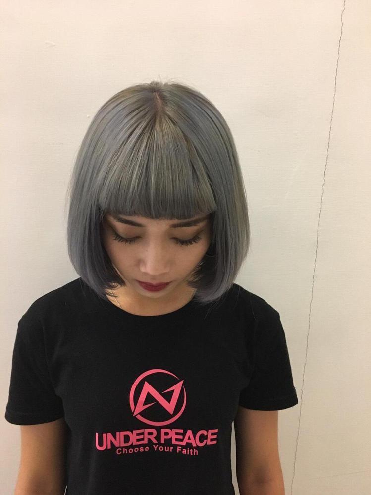 髮型創作/板橋傳奇Hair Salon-雙十店 - Queeny Lin。圖/H...