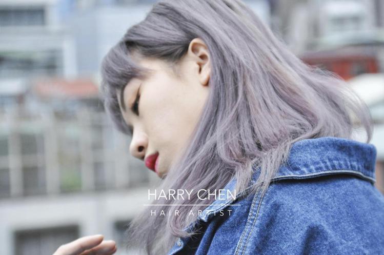 髮型創作/集色髮館MR-H - 陳鈺鈞 。圖/HairMap美髮地圖提供