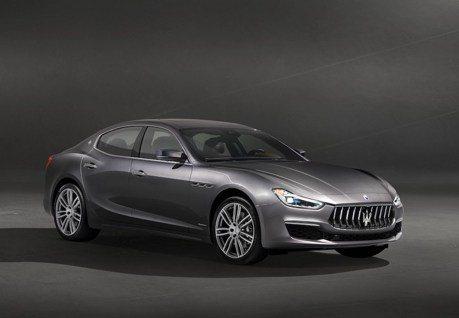 Maserati Ghibli小改款 駕駛輔助系統上身