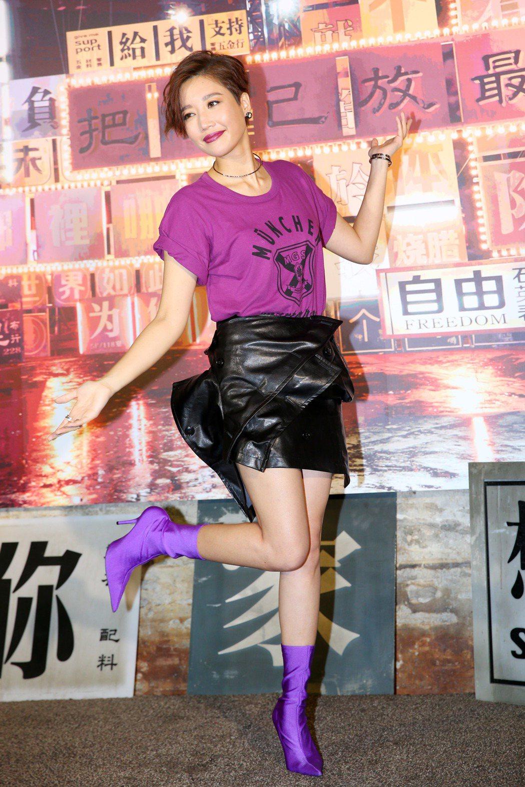 歌手A-Lin全新專輯將在九月二十日登場,下午率先公布新歌「未單身」MV。記者王