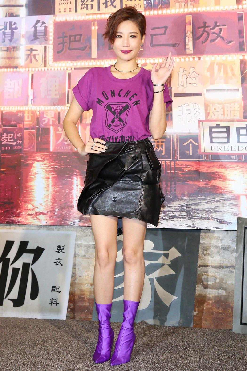 歌手A-Lin全新專輯將在九月二十日登場,下午率先公布新歌「未單身」MV。記者王...
