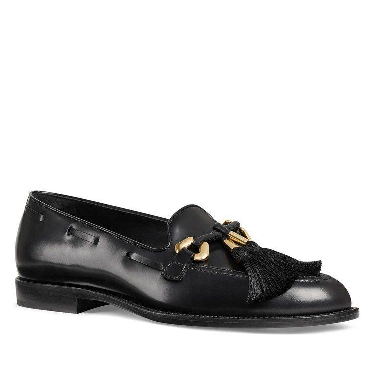 流蘇裝飾男士皮鞋,價格店洽。圖/Giuseppe Zanotti提供