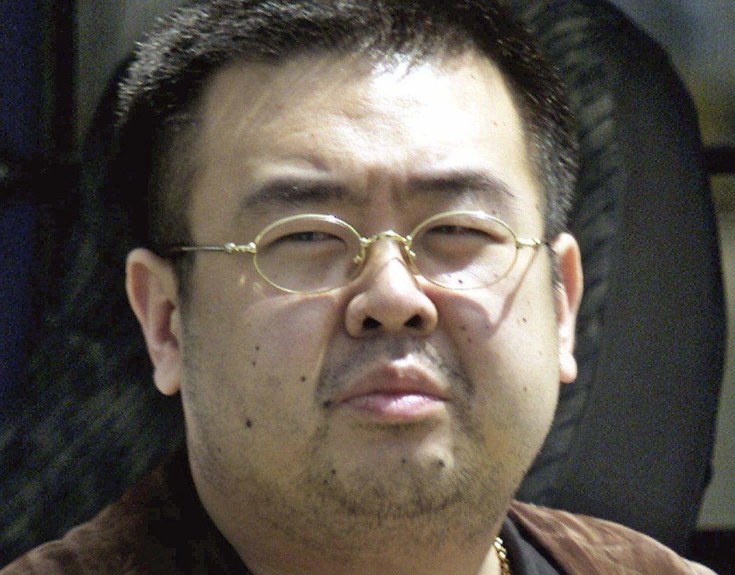 金正恩胞兄金正男今年2月13日在馬來西亞遭疑似北韓特工以VX神經毒劑殺害。 (美...