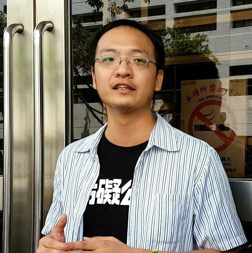 洪崇晏辱警無罪 黃子哲:司法為學運份子開了譙警綠燈
