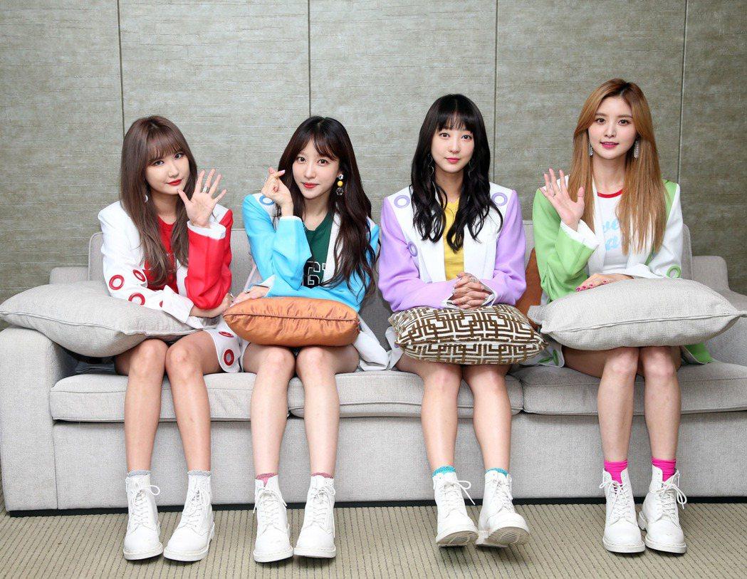 韓國女團「EXID」來台舉辦粉絲見面會。記者陳瑞源/攝影