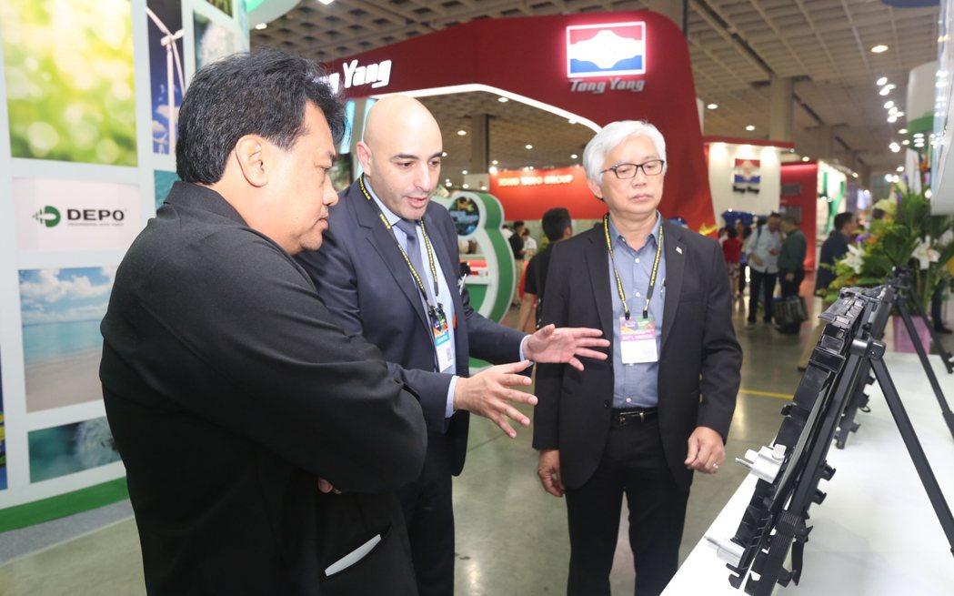 歷年來,台北國際汽車零配件展獲優質國內外買主青睞。圖/外貿協會提供