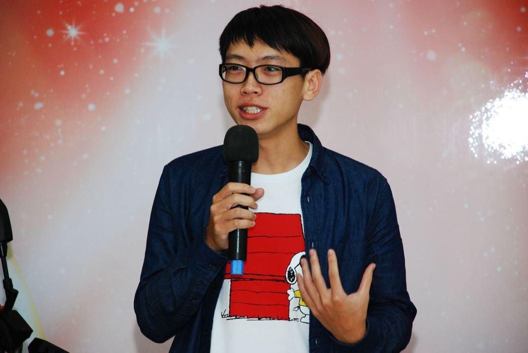 頭獎YAMAHA MT-07得主,台東大學的學生陳建豪。記者林昱丞/攝影
