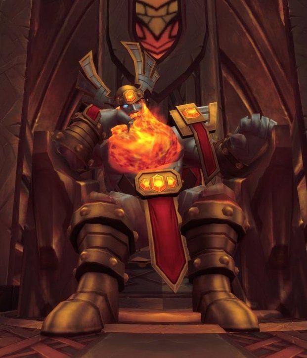 ※奧丁的火焰鬍子,是和炎魔一戰後的英勇勳章!