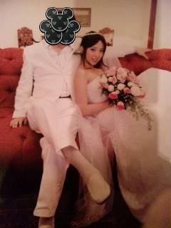 結婚的伊東遙。 圖片來源/ dmm