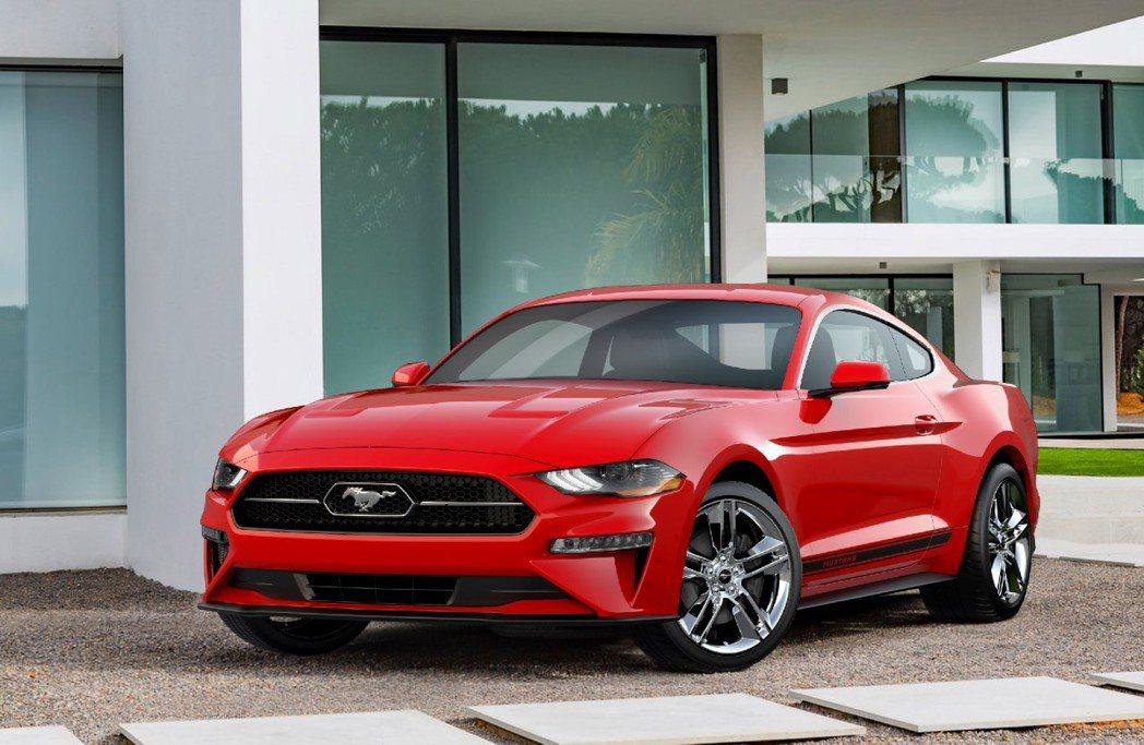 Ford Mustang。圖非召回車型。圖/Ford提供