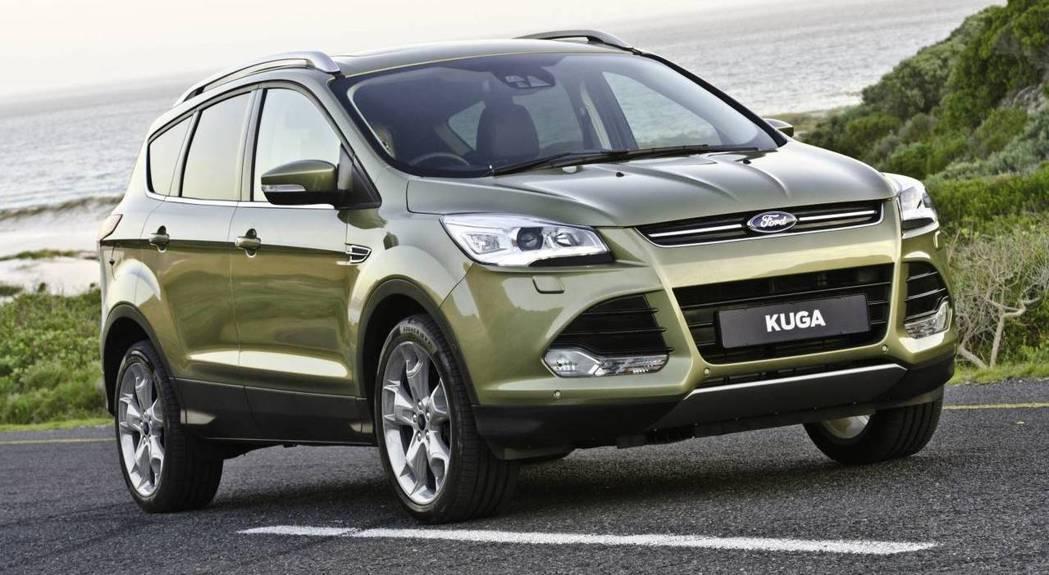 Ford Kuga。圖非召回車型。圖/Ford提供