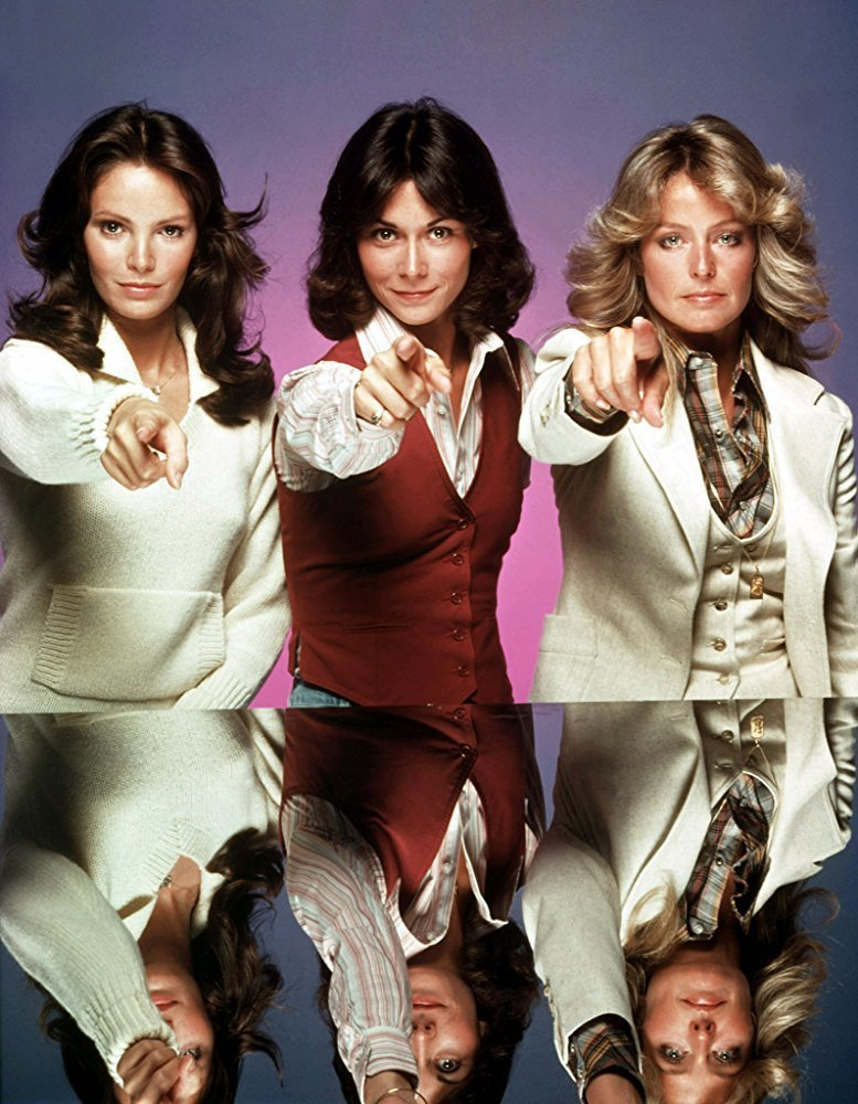 賈桂琳史密斯(左起)、凱蒂傑克遜、法拉佛西是「霹靂嬌娃」首季的要角。圖/摘自im...