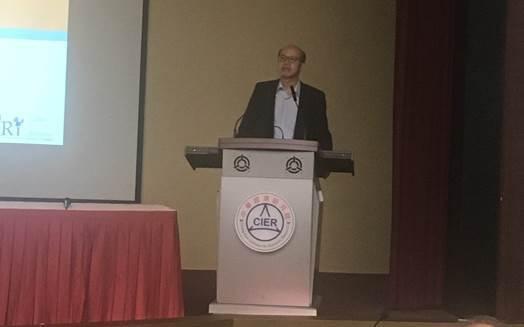圖3:新加坡國立大學段錦泉講座教授 (攝影:蔣士棋)