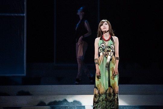 音樂劇《天天想你》陳品伶飾演模特兒Angel。