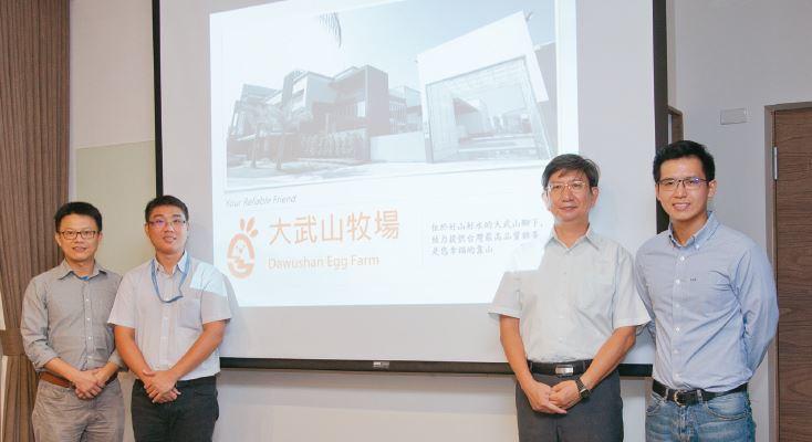 工研院與屏東科技大學、高雄海洋科技大學合作,共同開發大氣電漿雞蛋殺菌應用技術。左...