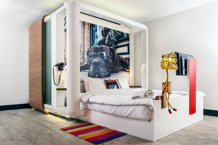 丘比克酒店近全球次文化翹楚的東倫敦區,新潮又富創意。圖/HotelsCombin...