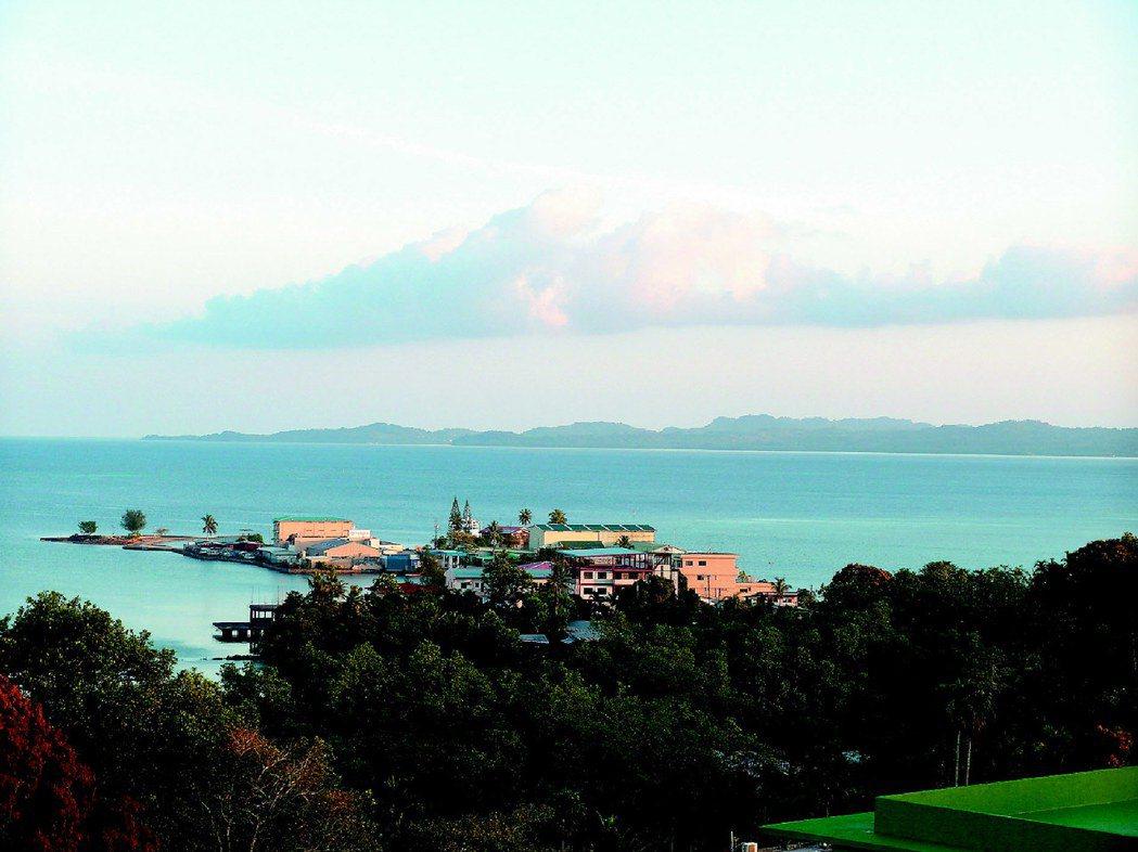遠眺帛琉海港風情。 圖/報系資料照