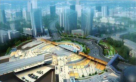 光谷廣場綜合體工程投資人民幣22億元,工期4年,地下30多公尺深,建成後每小時可...
