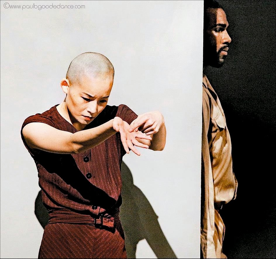 舞者劉奕伶(左)。 劉奕伶/提供