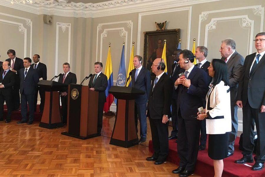 圖說:以和解落幕的內戰在歷史上屈指可數,證明了哥倫比亞政府與FARC的和解大不易...