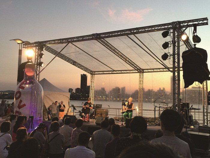 台北河岸(圖/ 台北市政府觀光傳播局提供)