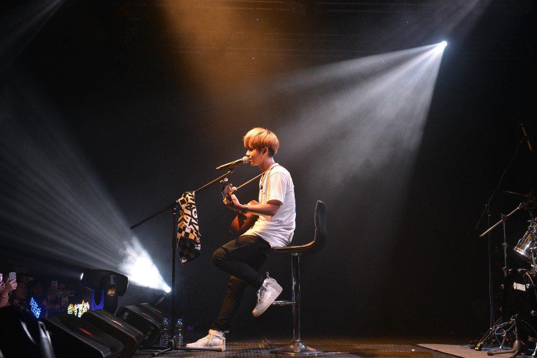 鼓鼓26日在香港開唱。圖/相信音樂提供