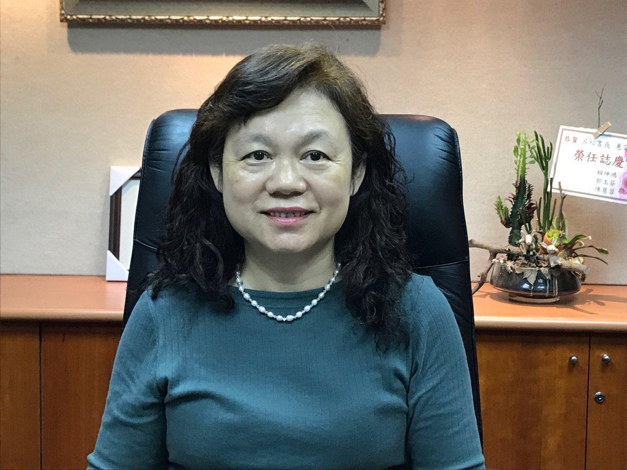 信託公會秘書長呂蕙容。記者陳怡慈/攝影
