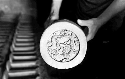專門供應北京故宮的琉璃瓦片。 (北京青年報)