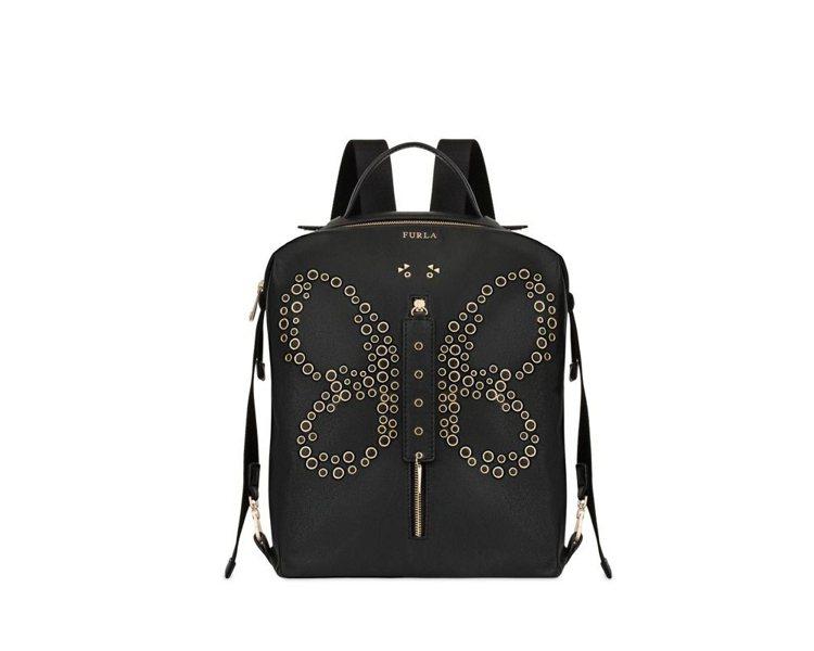 代表2000年代的Dafne蝴蝶後背包,19,500元。圖/Furla提供