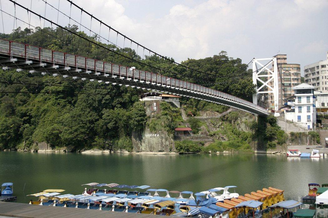 碧潭吊橋。 報系資料照