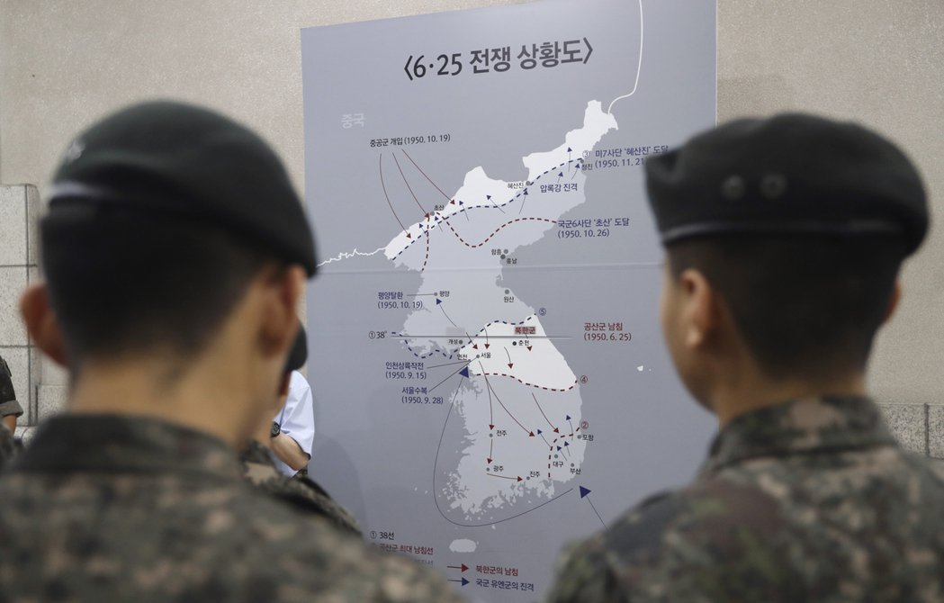 一連串的歷史發展下來,造就了大韓民族今天分治的局面。  圖/美聯社