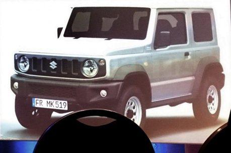 2019 Suzuki Jimny廠照提前曝光