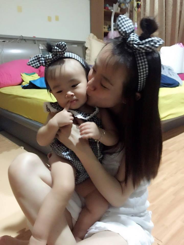 黃雨欣已育有一女,將再迎接一位小公主。圖/摘自臉書