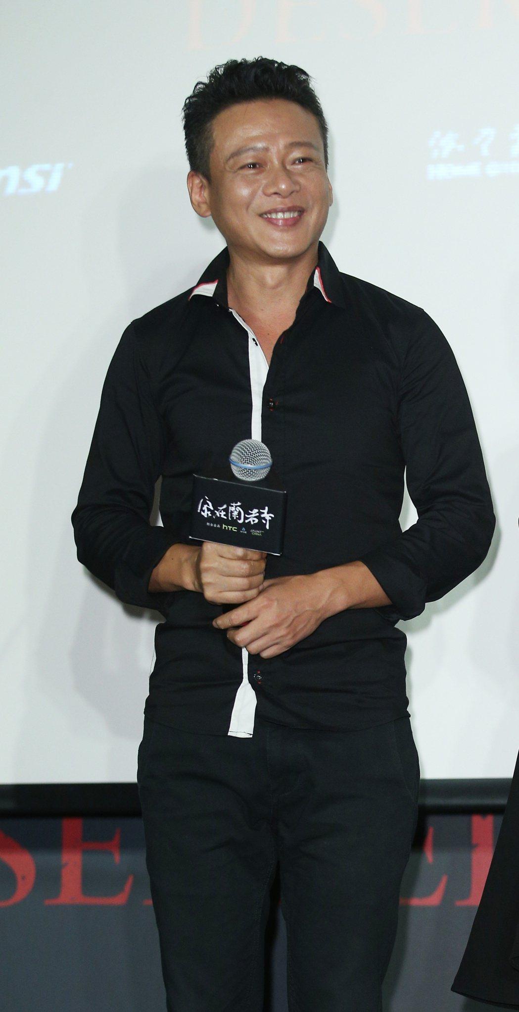 蔡明亮新作「家在蘭若寺」前進威尼斯記者會舉行,主要演員李康生。記者陳正興/攝影