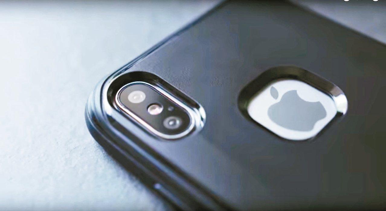 網傳iPhone 8有紅外線3D感測器以及兩顆前置鏡頭。 圖/翻攝自YouTub...