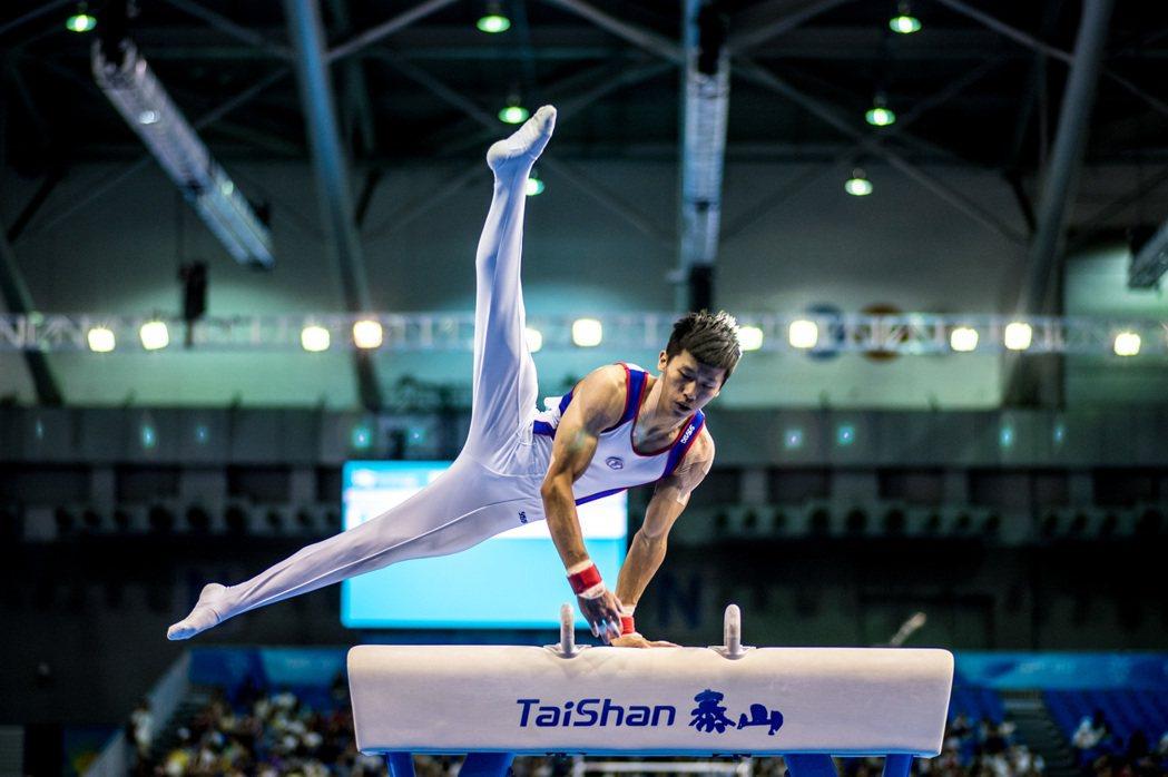 圖為競技體操選手李智凱。 圖/聯合報系資料照