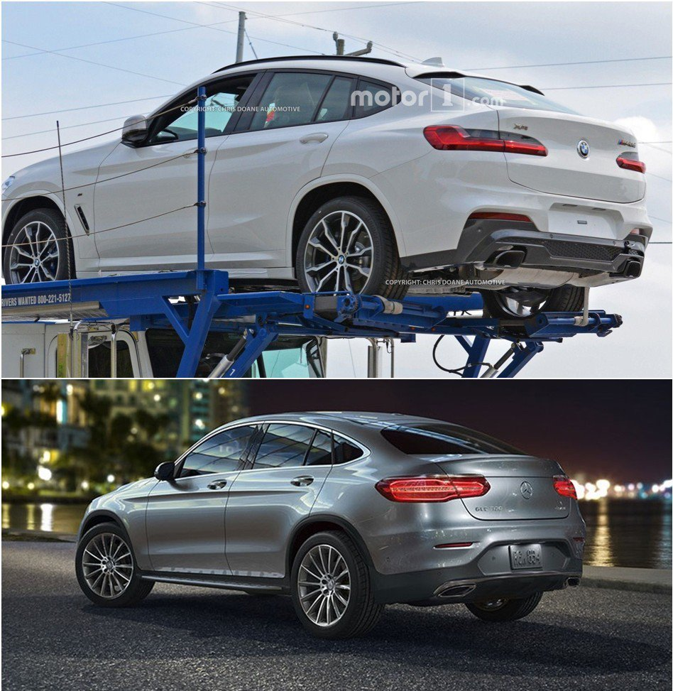 全新BMW X4尾燈樣式,乍看之下與Mercedes-Benz GLC Coup...