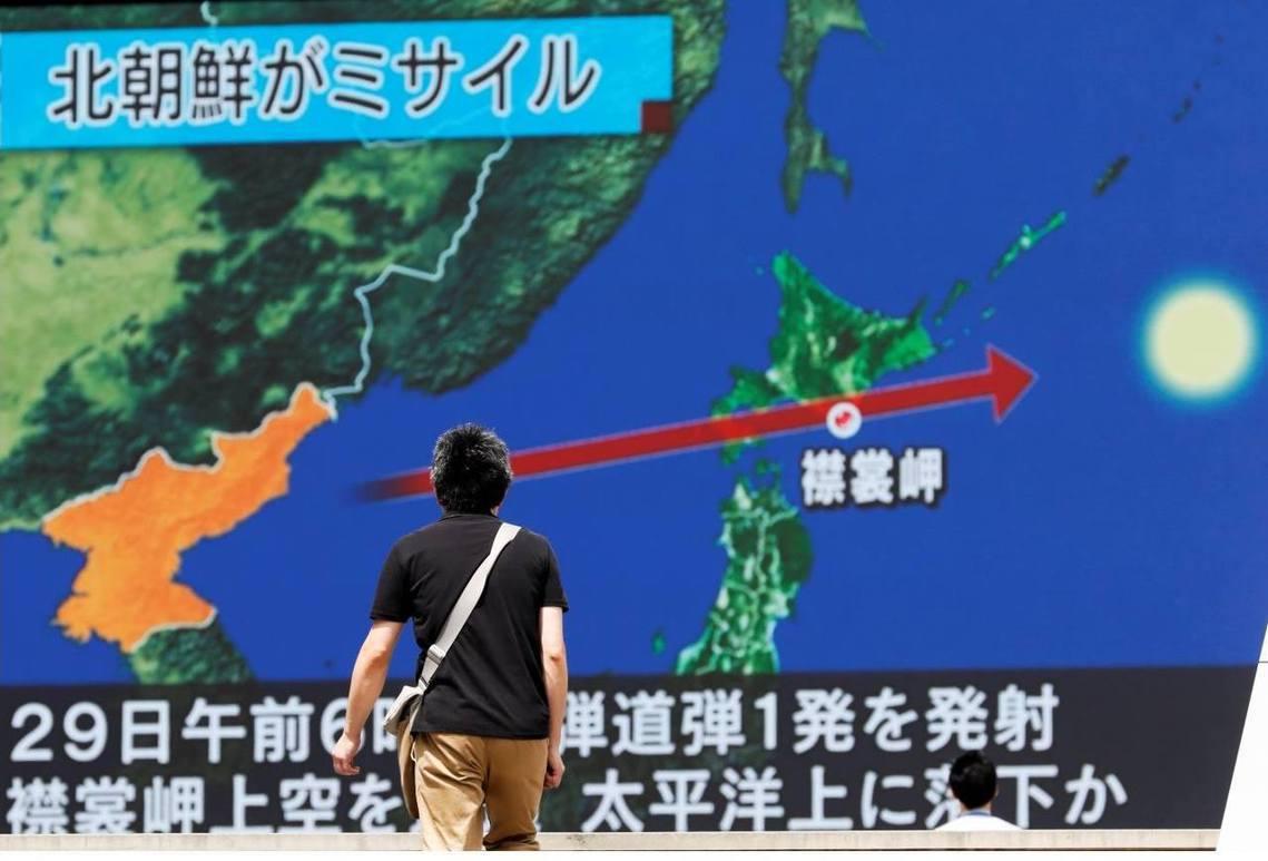 日本全國瞬時警報系統「J-ALERT」向北海道、東北地區等12道縣發出了緊急避難...