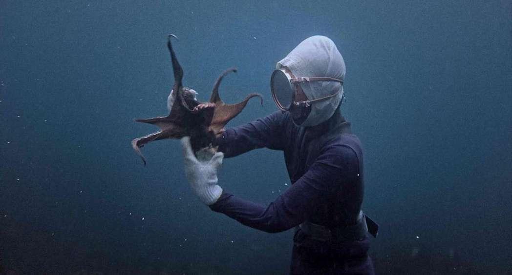 海女:比海還深。圖/高雄電影節提供