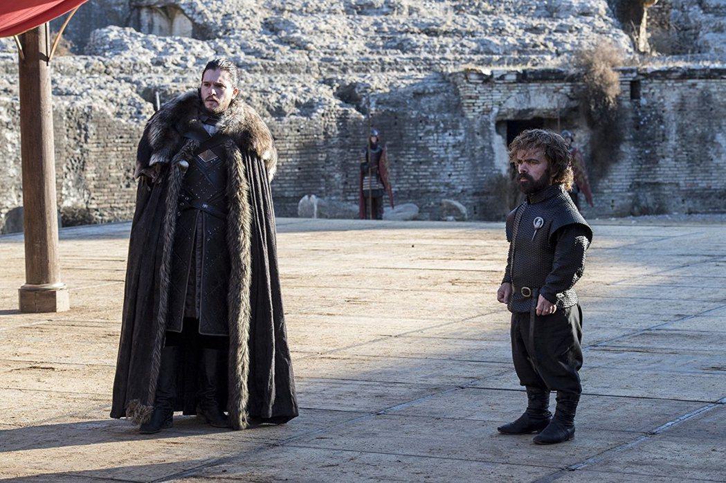 「冰與火之歌:權力遊戲」第7季完結篇,美國收視再創驚人新紀錄。圖/HBO提供