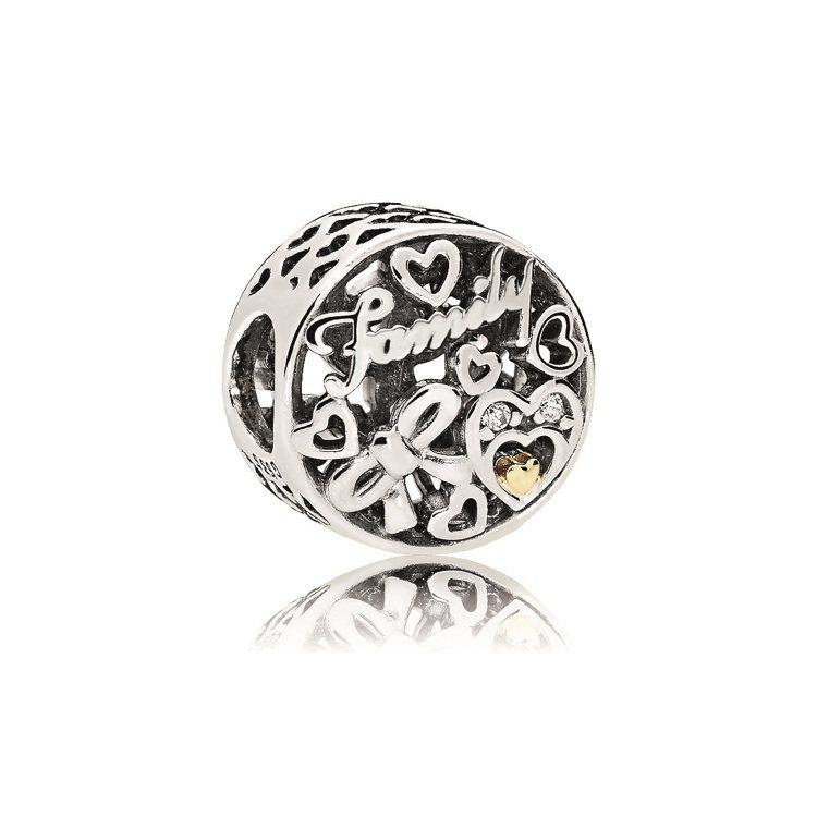 歌頌家庭925銀鋯石串飾,2,180元。圖/PANDORA提供