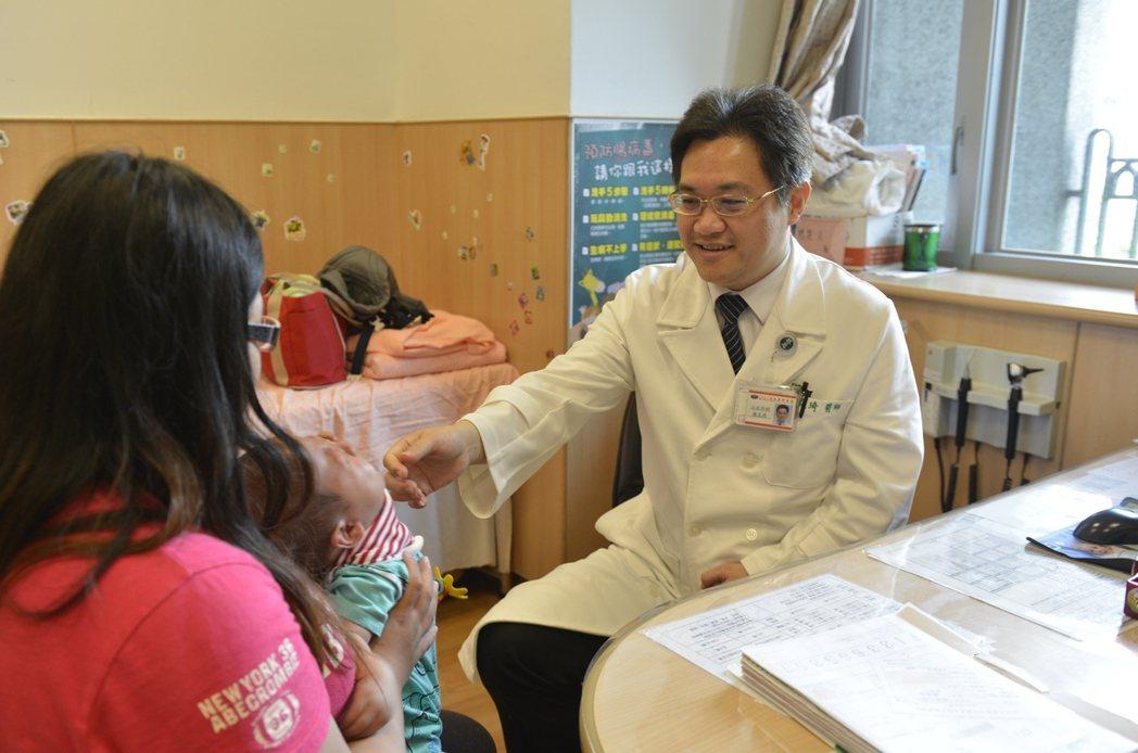 台北慈濟醫院小兒外科主任陳克琦。 圖/台北慈濟醫院提供