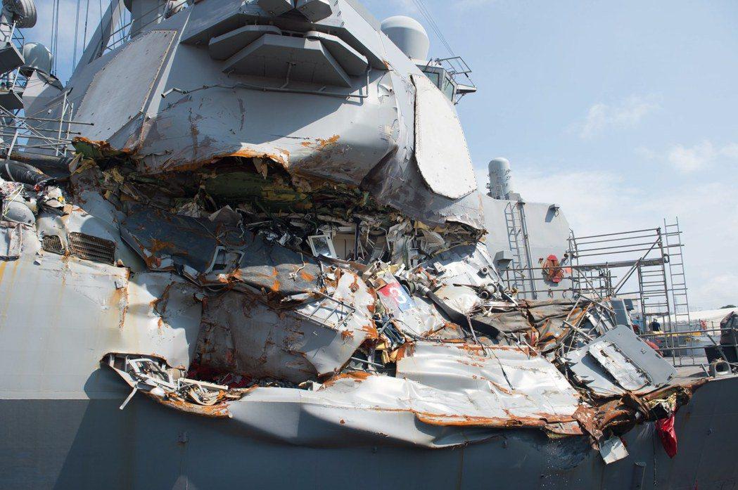 費茲傑羅號撞船事故最終導致艦長等3名軍官解除指揮職務,另有14名官兵遭受解職或行...