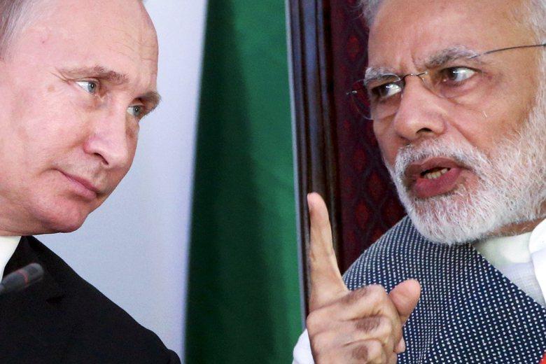冷戰結束以來,俄羅斯為了牽制中國的崛起,與印度有更多戰略合作。 圖/美聯社