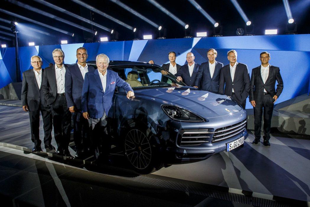 全新保時捷Cayenne在德國斯圖加特發表。圖/保時捷提供