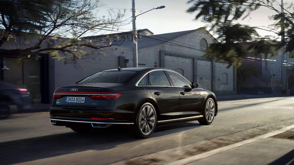 圖為Audi A8。 摘自Audi
