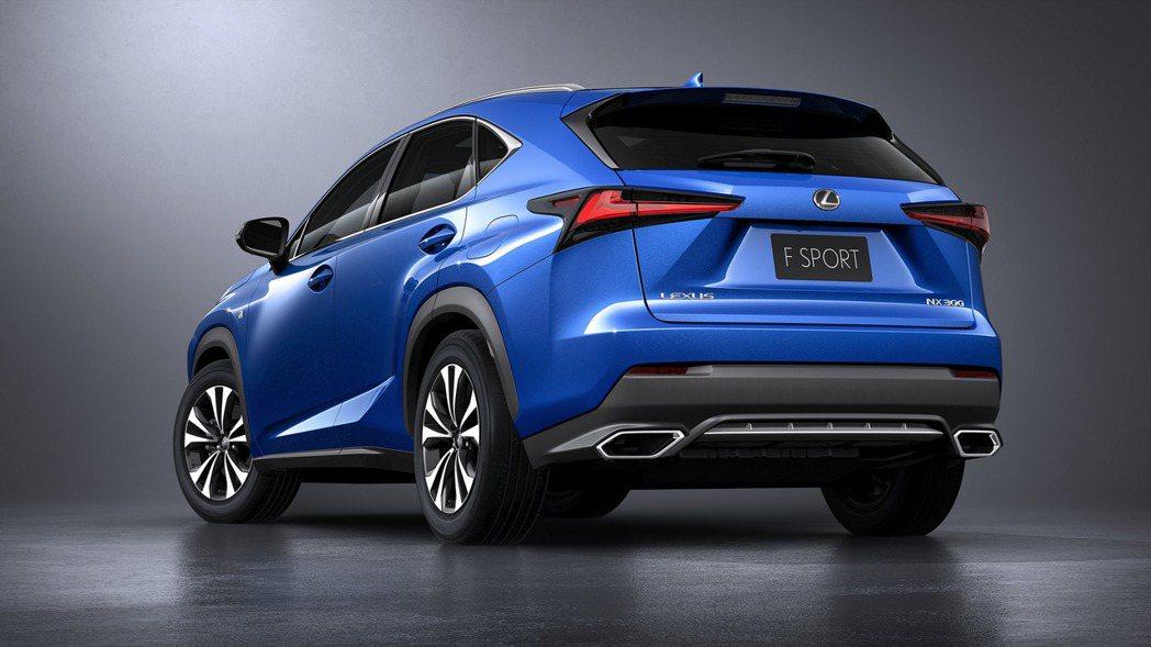 圖為Lexus NX。 摘自Lexus